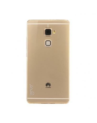 Carcasa protectie spate din gel TPU pentru Huawei Mate S - gold