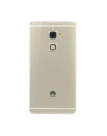 Carcasa protectie spate din gel TPU pentru Huawei Mate S - transparenta