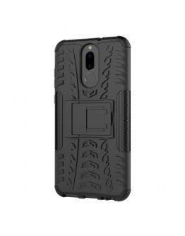 Carcasa protectie spate anti-alunecare pentru Huawei  Mate 10 Lite, neagra