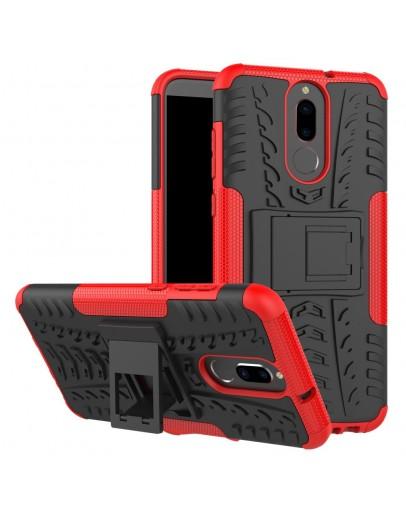 Carcasa protectie spate anti-alunecare pentru Huawei  Mate 10 Lite, rosie