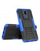 Carcasa protectie spate anti-alunecare pentru Huawei  Mate 10 Lite, Albastra