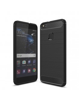 Carcasa protectie spate din gel TPU pentru Huawei P10 Lite, neagra