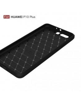 Carcasa protectie spate din gel TPU pentru Huawei P10, neagra