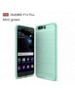 Carcasa protectie spate din gel TPU pentru Huawei P10, verde deschis