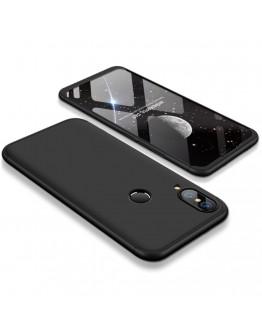 Husa completa din plastic pentru Huawei P20 Lite, neagra