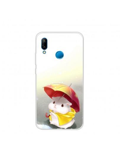 "Carcasa protectie spate ,,Hamster"" din gel TPU pentru Huawei P20 Lite"