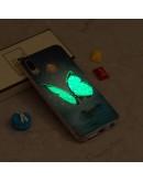 Carcasa protectie ,,Fluture albastru'' din gel TPU pentru Huawei P20 Lite
