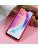 Carcasa protectie 3D ,,Caine'' din gel TPU pentru Huawei P20 Lite, rosie