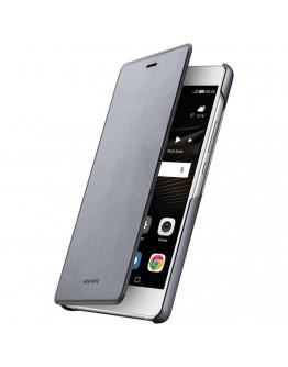 Husa protectie de tip flip cover pentru Huawei P9 Lite, gri