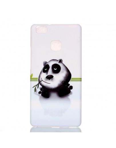 "Carcasa protectie cu imprimeu ""Panda"" pentru Huawei P9 lite, alba"