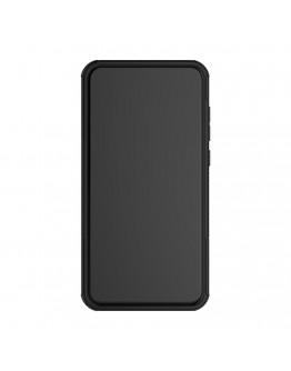 Carcasa protectie spate anti-alunecare pentru Huawei  P9 Lite 2017 / P8 Lite 2017, negru