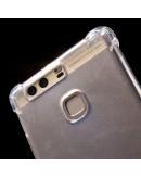 Carcasa protectie spate anti-soc MOFI din gel TPU pentru Huawei P9, transparenta