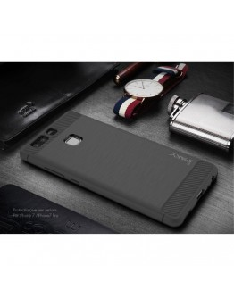 Carcasa protectie spate IPAKY din gel TPU pentru Huawei P9, gri