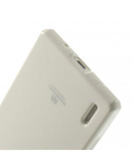 Carcasa protectie spate pentru Huawei Ascend P7, alba
