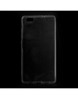 Carcasa protectie din gel TPU 0.6mm pentru Huawei Ascend P8 Lite - transparenta