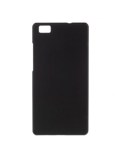 Carcasa protectie din plastic mat pentru Huawei Ascend P8 Lite - neagra