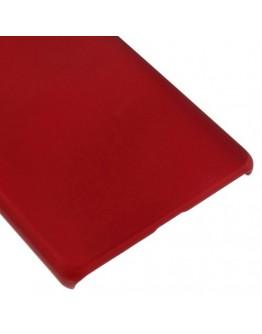 Carcasa protectie din plastic mat pentru Huawei Ascend P8 Lite - rosie