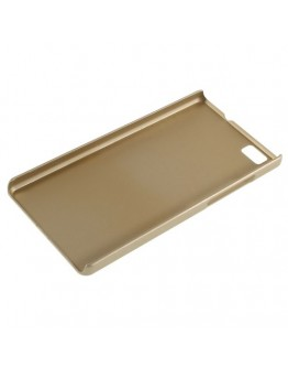 Carcasa protectie din plastic mat pentru Huawei Ascend P8 Lite - gold
