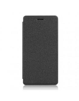 Husa protectie din piele ecologica pentru Huawei Ascend P8 Lite - neagra