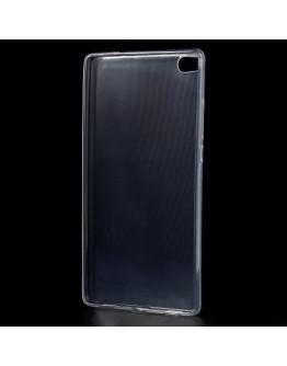 Carcasa protectie spate din gel TPU 0.6 mm pentru Huawei Ascend P8 - transparenta