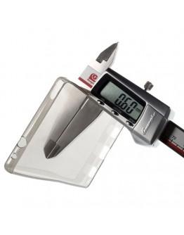 Carcasa protectie spate din gel TPU 0.6 mm pentru Huawei Ascend P8 - gri