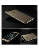 Carcasa protectie spate din gel TPU pentru Huawei Ascend P8 - gri