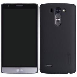 """Carcasa protectie spate """"Super Frosted"""" + folie protectie ecran pentru LG G3 S Mini D722 - Neagra"""