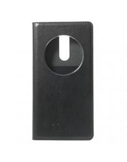 Husa protectie cu fereastra rotunda pentru pentru LG G3 S Mini - neagra