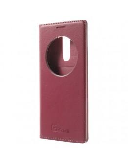 Husa protectie cu fereastra rotunda pentru pentru LG G3 S Mini - roz