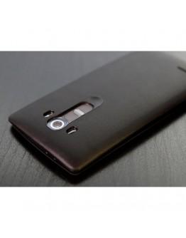 Husa protectie flip cover ROCK cu decupaj pentru LG G4 - neagra
