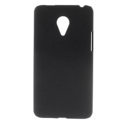 Carcasa protectie spate din plastic pentru MEIZU MX4 Pro - neagra