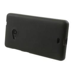 Carcasa protectie spate din gel TPU pentru Microsoft Lumia 535 - neagra