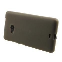 Carcasa protectie spate din gel TPU pentru Microsoft Lumia 535 - gri