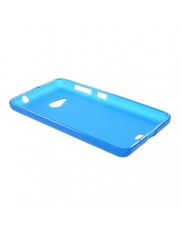 Carcasa protectie spate din gel TPU pentru Microsoft Lumia 535 - albastra