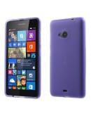 Carcasa protectie spate din gel TPU pentru Microsoft Lumia 535 - mov