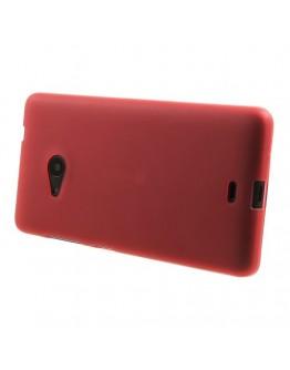 Carcasa protectie spate din gel TPU pentru Microsoft Lumia 535 - rosie