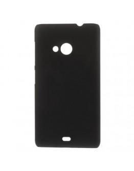 Carcasa protectie spate din plastic pentru Microsoft Lumia 535 - neagra