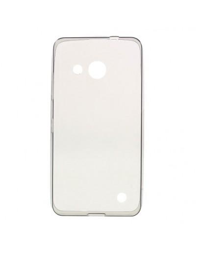Carcasa protectie spate din gel TPU pentru Microsoft Lumia 550 - gri