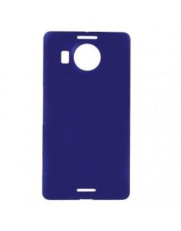 Carcasa protectie spate din plastic pentru Microsoft Lumia 950 XL - albastra