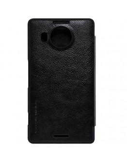 Husa protectie flip cover pentru Microsoft Lumia 950 XL - neagra