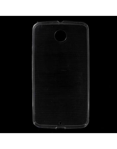 Carcasa protectie spate 0.6mm pentru Motorola Nexus 6 - transparenta