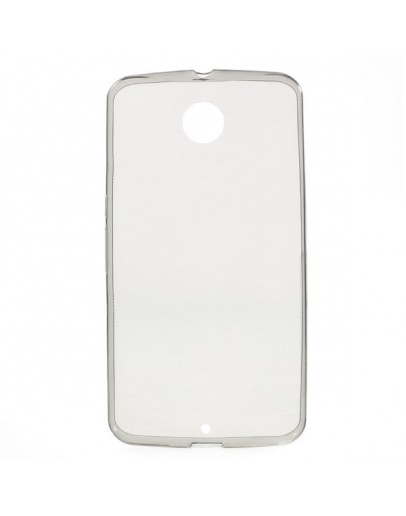 Carcasa protectie spate 0.6mm pentru Motorola Nexus 6 - gri
