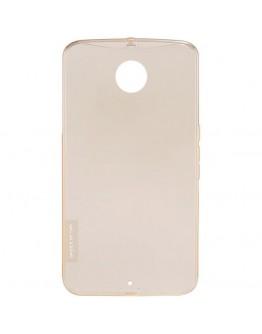 Carcasa protectie spate 0.6mm Nillkin pentru Motorola Nexus 6 - maro