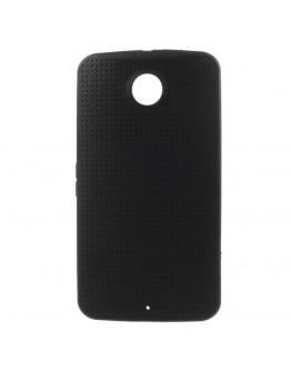 "Carcasa protectie spate ""Mesh"" pentru Motorola Nexus 6 - neagra"