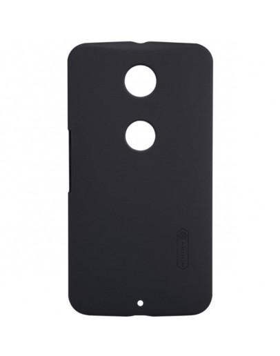Pachet carcasa protectie spate + folie ecran pentru Motorola Nexus 6 - negru