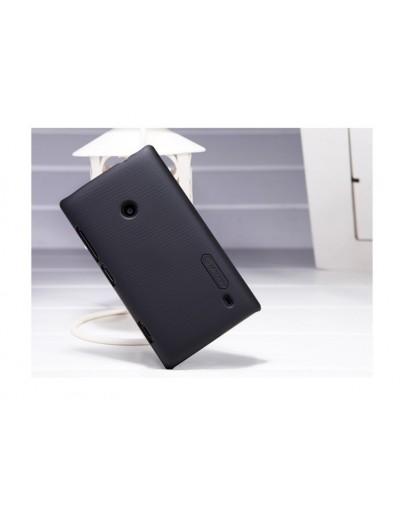 Carcasa protectie spate + folie ecran pentru Nokia Lumia 520/525