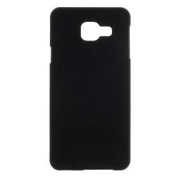 Carcasa protectie spate din plastic cauciucat pentru Samsung Galaxy A3 SM-A310F (2016), neagra