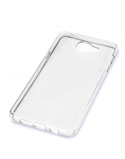 Carcasa protectie spate din gel TPU pentru Samsung Galaxy A3 SM-A310F (2016), transparenta