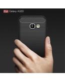 Carcasa protectie spate din gel TPU pentru Samsung Galaxy A3 (2017), neagra