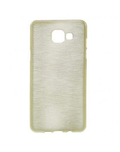 Carcasa protectie spate din gel TPU pentru Samsung Galaxy A5 SM-A510F (2016), gold